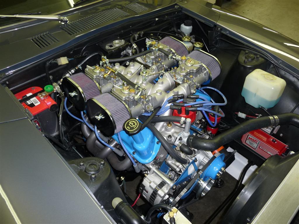 240z v8 conversion small block ford vanachro Gallery
