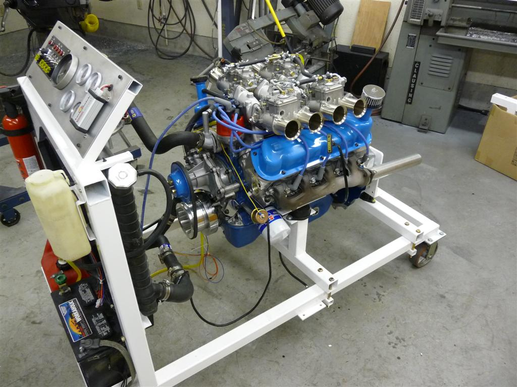 Engine Stand Project – Run Engine Test Stand Wiring