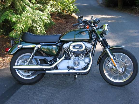 Taller Person Seat The Sportster And Buell Motorcycle